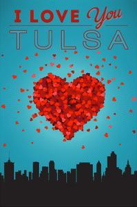 I Love You Tulsa, Oklahoma by Lantern Press