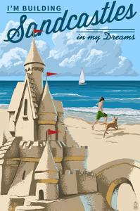 I'm Building Sandcastles in My Dreams by Lantern Press