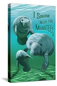 I Swam with Manatees by Lantern Press