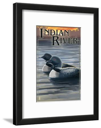 Indian River, Michigan - Loon Scene