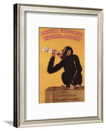 Italy - Anisetta Evangelisti Liquore da Dessert Promotional Poster