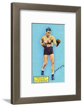 Jack Dempsey and a Message to the Boys