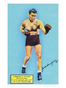 Jack Dempsey and a Message to the Boys by Lantern Press