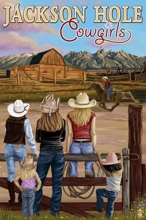 Jackson Hole, Wyoming - Cowgirls
