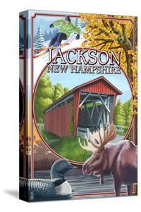 Jackson, New Hampshire Montage by Lantern Press