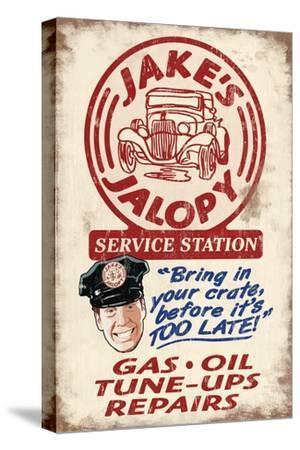 Jakes Jalopy Service Station - Vintage Sign