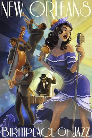 Jazz Scene - New Orleans, Louisiana
