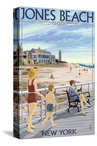 Jones Beach Scene, New York by Lantern Press