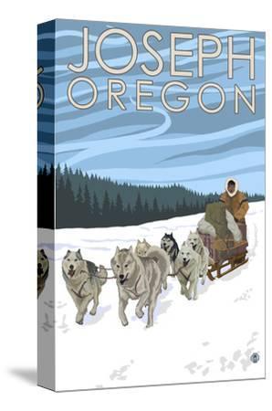 Joseph, Oregon - Dog Sled Scene