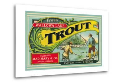Joseph, Oregon - Wallowa Lake Trout Label
