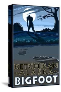 Ketchikan, Alaska - Bigfoot by Lantern Press