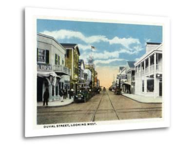 Key West, Florida - Duval Street West Scene