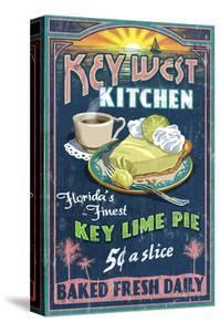 Key West, Florida - Key Lime Pie by Lantern Press