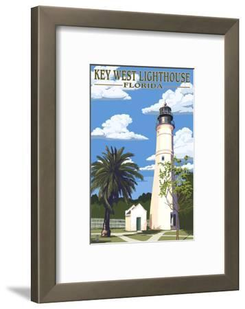 Key West Lighthouse, Florida Day Scene