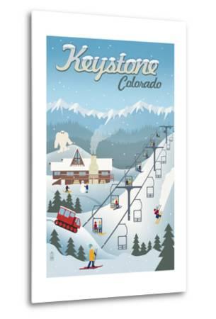 Keystone, Colorado - Retro Ski Resort