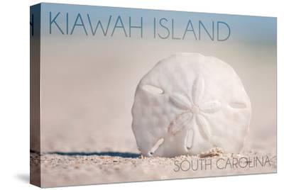 Kiawah Island, South Carolina - Sand Dollar and Beach