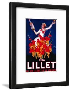 Kina Lillet Vintage Poster - Europe by Lantern Press