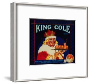 King Cole Orange Label - Redlands, CA by Lantern Press