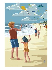 Kite Flyers by Lantern Press