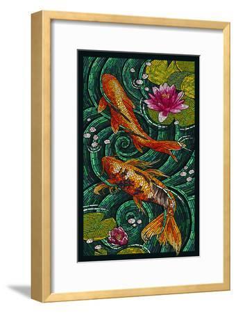 Koi - Paper Mosaic