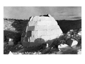 Kotzebue, Alaska - Snow Igloo by Lantern Press