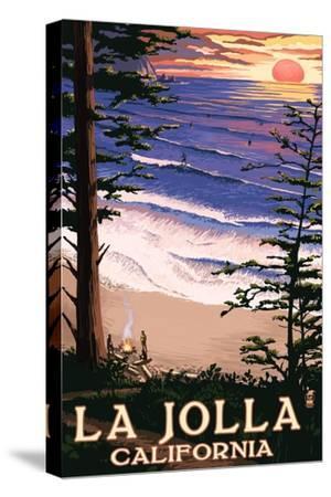 La Jolla, California - Sunset Beach