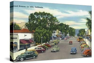 La Jolla, California - View Down Girard Avenue