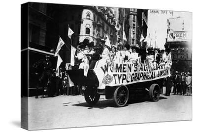 Labor Day Parade Float Photograph - New York, NY