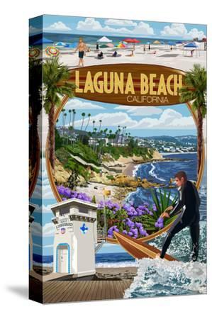 Laguna Beach, California - Montage Scenes