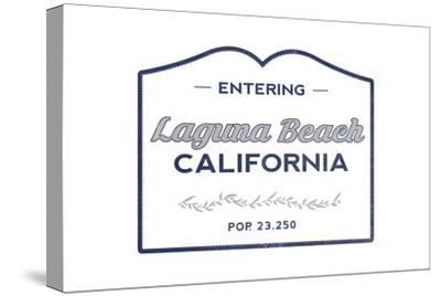 Laguna Beach, California - Now Entering (Blue)
