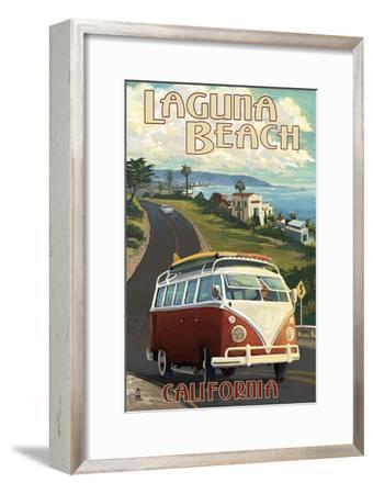 Laguna Beach, California - VW Van Cruise