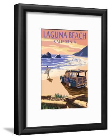 Laguna Beach, California - Woody on Beach