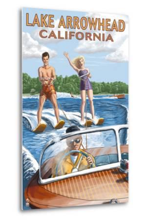 Lake Arrowhead - California - Waterskiers