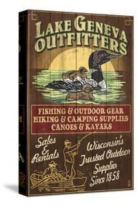 Lake Geneva, Wisconsin - Loon Outfitters by Lantern Press