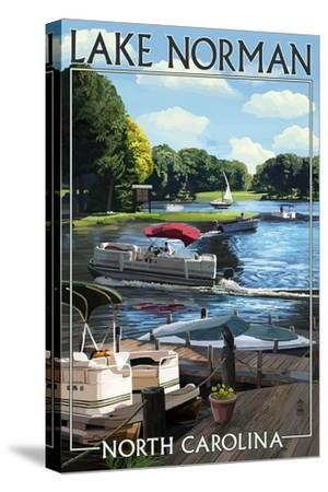 Lake Norman, North Carolina - Pontoon Boats