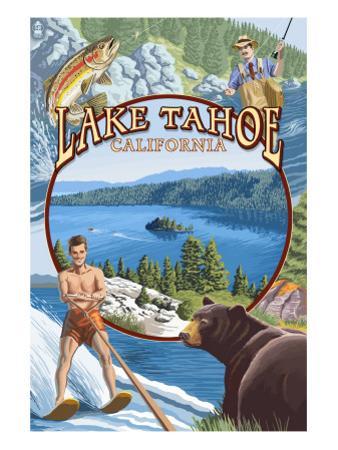 Lake Tahoe, CA Summer Views
