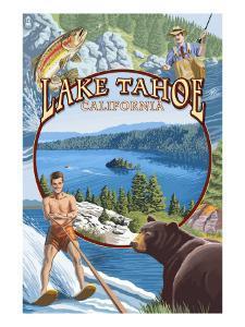 Lake Tahoe, CA Summer Views by Lantern Press