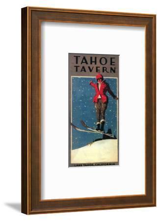 Lake Tahoe, California - Tahoe Tavern Promo Poster
