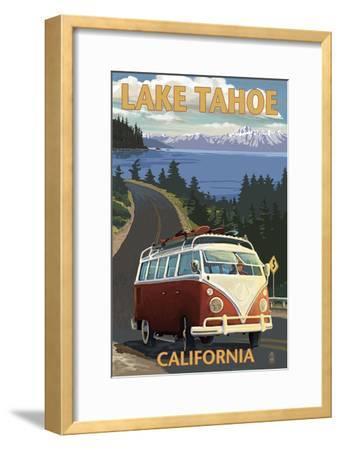 Lake Tahoe, California - VW Coastal Drive