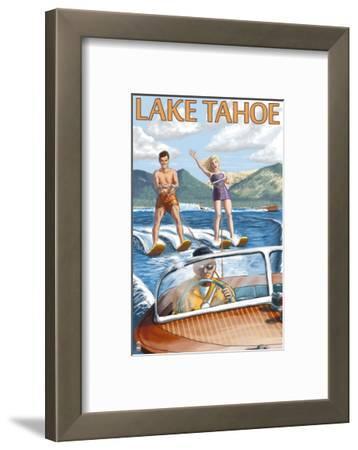 Lake Tahoe, California - Water Skiing Scene