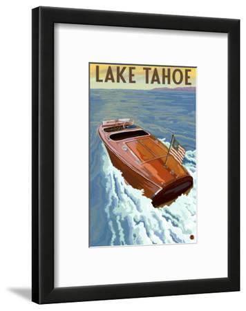 Lake Tahoe, California - Wooden Boat