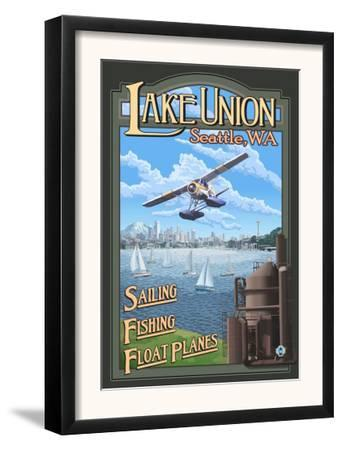 Lake Union Float Plane, Seattle, Washington