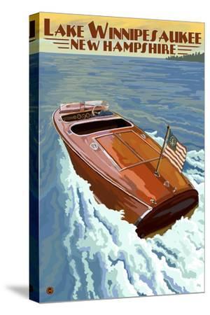 Lake Winnipesaukee, New Hampshire - Chris Craft Boat