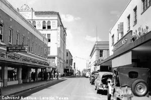 Laredo, Texas - Convent Avenue by Lantern Press