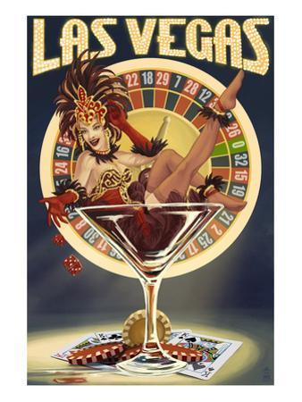Las Vegas, Nevada - Casino Pinup Girl
