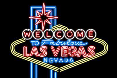 Real Neon LAS VEGAS VIC COWBOY GRID WALL SIGN not LED