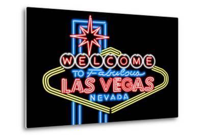 Las Vegas, Nevada - Neon Lights Welcome Sign