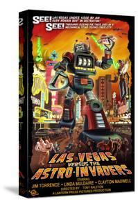 Las Vegas vs. The Astro-Invaders by Lantern Press