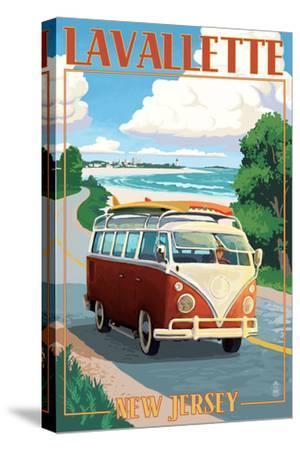 Lavallette, New Jersey - VW Van Drive