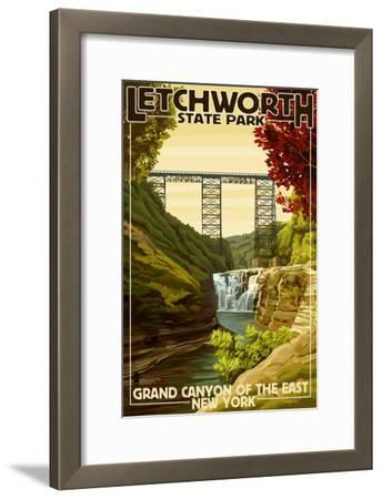 Letchworth State Park, New York - Grand Canyon of the East